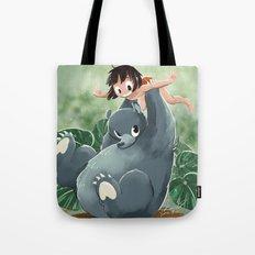 Mowgli and Baloo Tote Bag