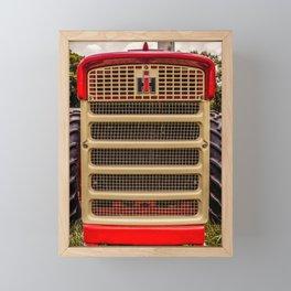 International Grill Farmall Tractor Front  Framed Mini Art Print