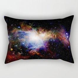 Orion NebulA Colorful Full Image Rectangular Pillow
