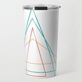 4 triangles Travel Mug