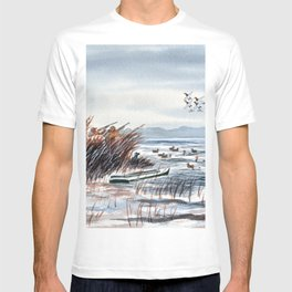 Duck Hunting For Canvasbacks T-shirt