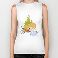 cinderella Biker Tanks featuring Cinderella by 7pk2 online