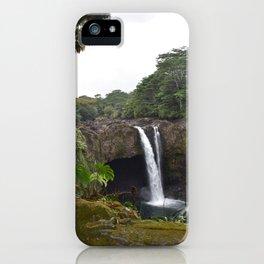 Rainbow Falls Big Island Hawaii USA iPhone Case