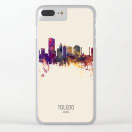 Toledo Ohio Skyline Clear iPhone Case