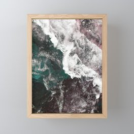 Abstract Sea, Water Framed Mini Art Print