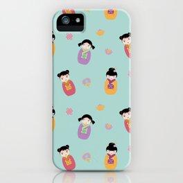 Kawaii Dolls iPhone Case