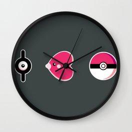 I Luv(disc) Pokémon Wall Clock