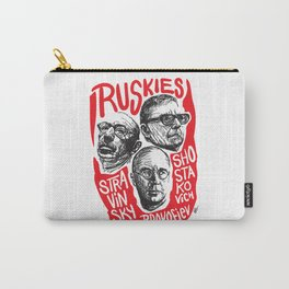 Ruskies-Russian composers Carry-All Pouch
