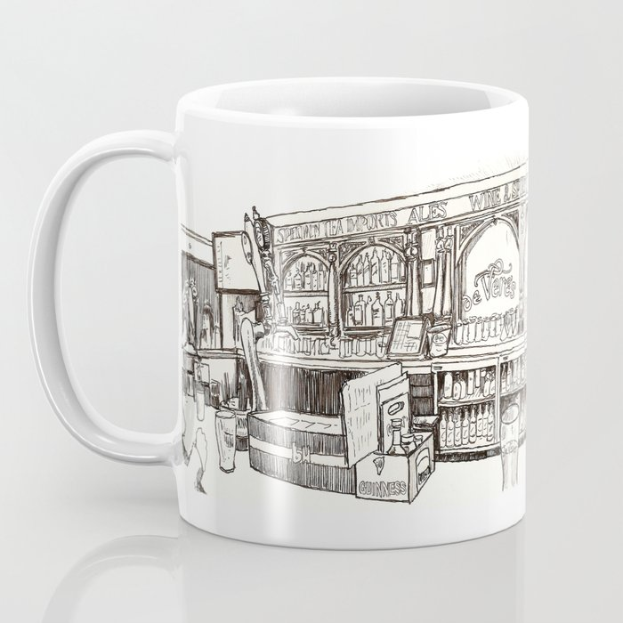 de vere's irish pub, davis Coffee Mug
