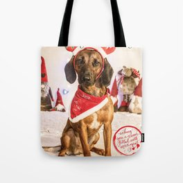 Lucy the naughty Reindeer... Tote Bag