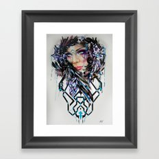 Salvage Beauty Framed Art Print