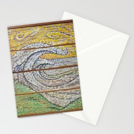 Waves on Grain Stationery Cards