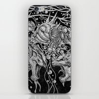 dragons iPhone & iPod Skins featuring Dragons by Walid Aziz