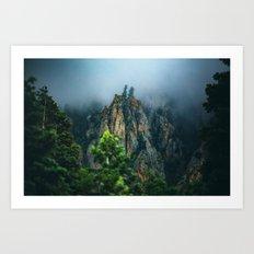 Wasatch Mountains, No. 2 Art Print