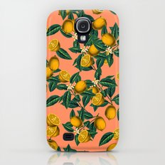 Lemon and Leaf Slim Case Galaxy S4