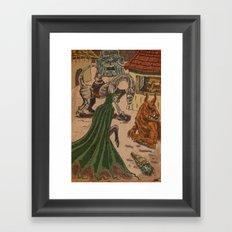Ob-scene Framed Art Print