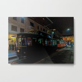 Milan by night Metal Print
