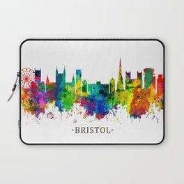Bristol England skyline Laptop Sleeve