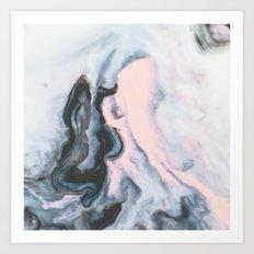 Modern marble 01 Art Print