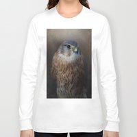 merlin Long Sleeve T-shirts featuring The Merlin by Pauline Fowler ( Polly470 )