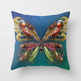 Betterfly - Insects Throw Pillow