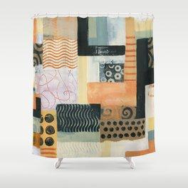 Urban Quilt II Shower Curtain