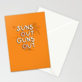 Suns Out Stationery Cards