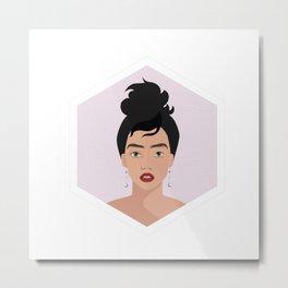 Fierce Woman - Self Love Metal Print