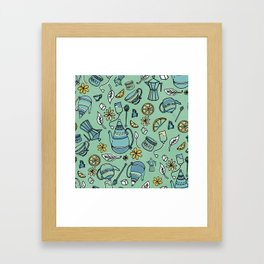 Tea Print Framed Art Print