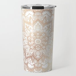 Mandala Gold Shine II Travel Mug