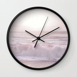 SUNSET HALFMOON BAY by MS Wall Clock
