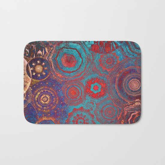 Mysterious Circles Bath Mat
