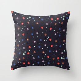 Deep Sea Anemone Throw Pillow