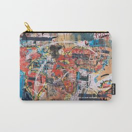 World Mapsqiuat Carry-All Pouch