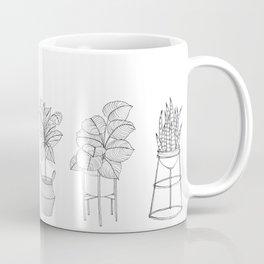 Houseplants Pattern Coffee Mug