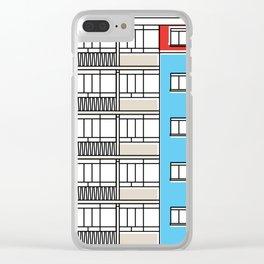 Edificio Canaima -Detail- Clear iPhone Case