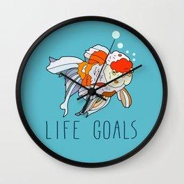 Life Goals Wall Clock