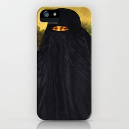 Mona Lisa Hides Her Smile iPhone Case