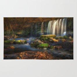 Sgwd Ddwli Uchaf waterfall Rug