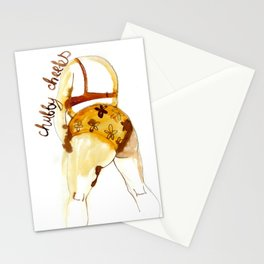 Chubby cheeks Stationery Cards
