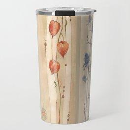 Dry flowers: blowball Travel Mug