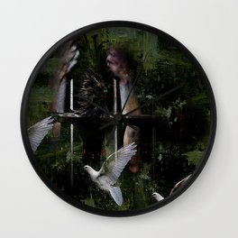 Free in his head Wall Clock