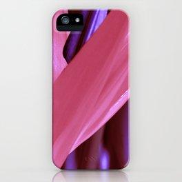 Strelitzia Reginae (Magenta version) iPhone Case