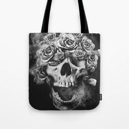 SKULL & ROSES I Tote Bag