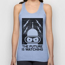 The Future Is Watching Unisex Tank Top