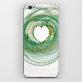 Valentine's Fractal VIII - Light iPhone Skin