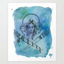 Hekate Art Print