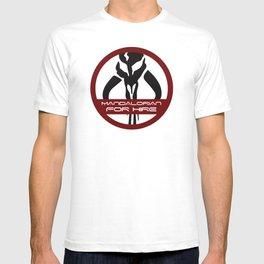 Mandalorian for Hire T-shirt