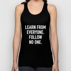 Learn from Everyone Unisex Tank Top