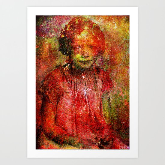 I hate the other children Art Print